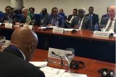 Meeting of JMEC, AUC, IGAD, UN in Addis Ababa about South Sudan.